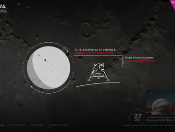 Alcanza la luna