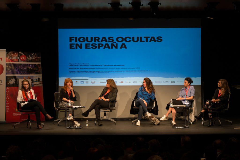 """Mesa redonda """"Figuras ocultas"""". Jornadas de Producción de Cine Publicitario. Valladolid"""