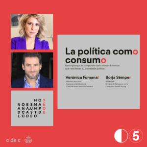 La politica como consumo
